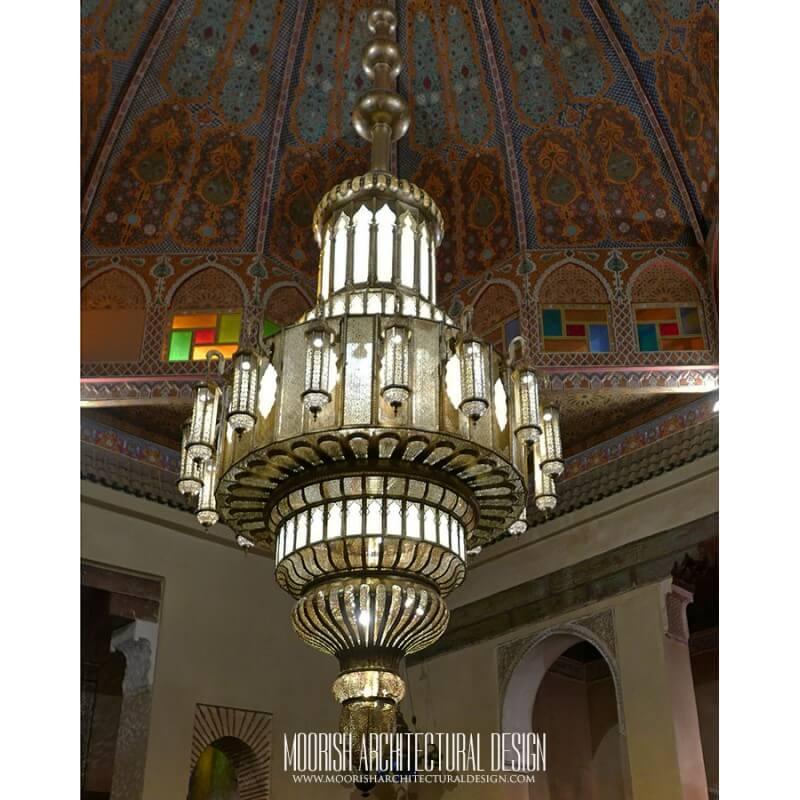 Luxury Large size Moroccan chandelier