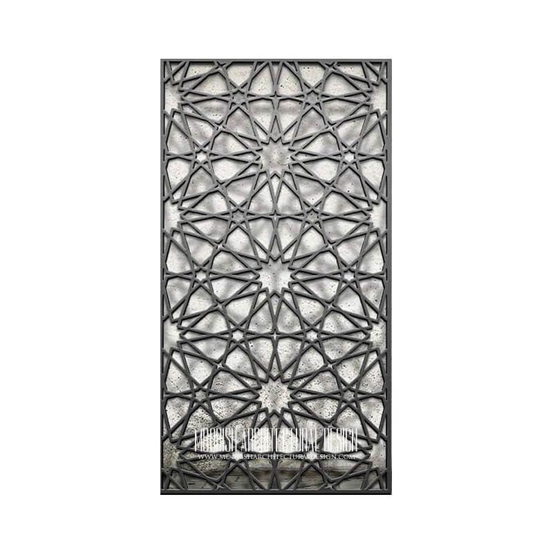 Islamic Geometric Lattice Pattern