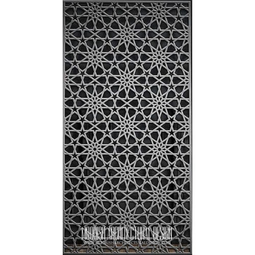 Metal Lattice Screen 09