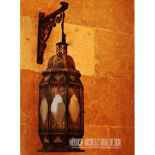 Moroccan Outdoor Wall Light 06