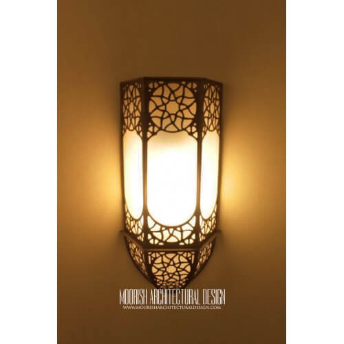 Traditional Moroccan Sconce 27