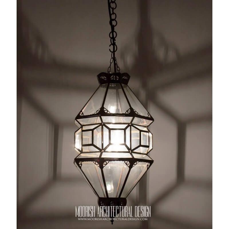 Moroccan Clear Glass Lantern