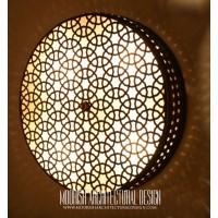 Exotic restaurant wall lights