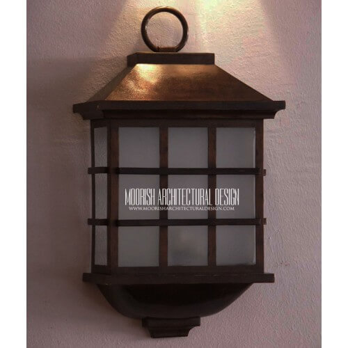 Modern Moroccan Sconce 32
