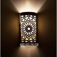Buy Moroccan bathroom wall sconces New York