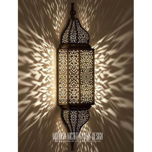 Modern Moroccan Sconce 44