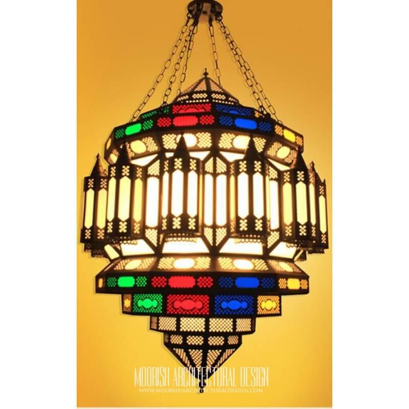 Moorish Hotel Lighting