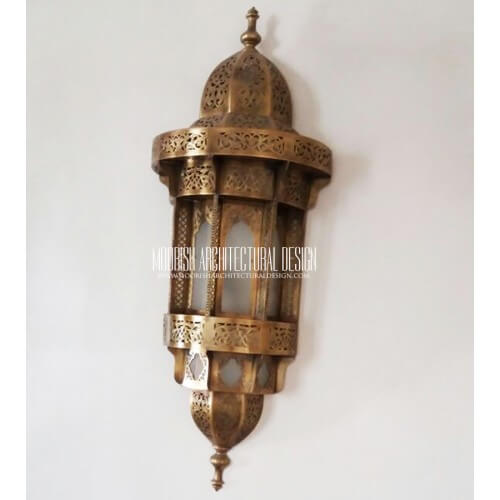 Traditional Moroccan Sconce 38
