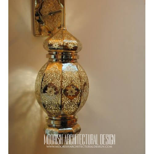 Modern Moroccan Sconce 52