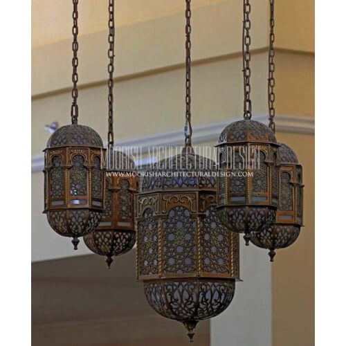 Traditional Moroccan Pendant 78