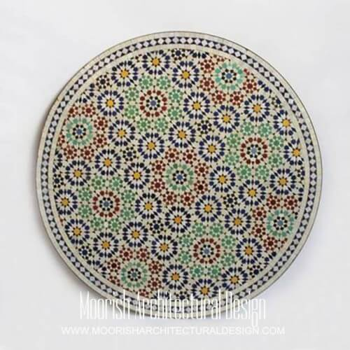 Moroccan mosaic table 09