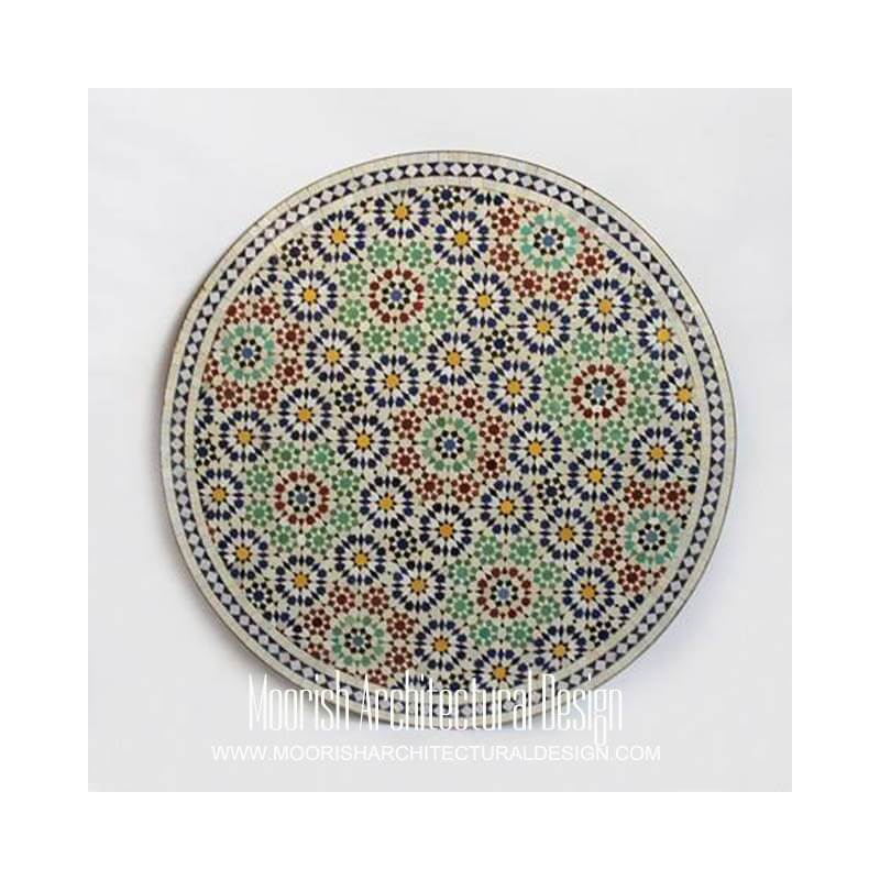 Moroccan Garden Table