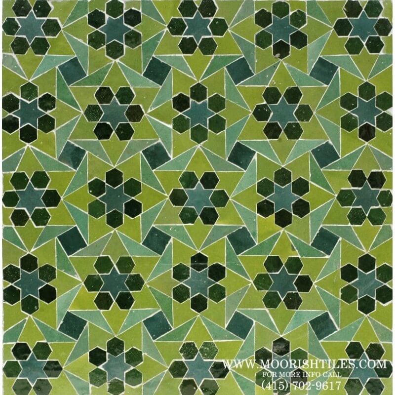 Moroccan Tile 09