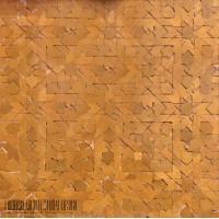 Yellow Moroccan mosaic tile