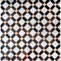 Moroccan tile kitchen floor idea