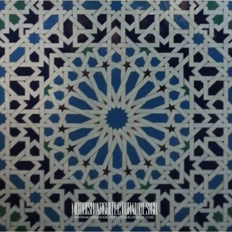 Moroccan Tile Backsplash