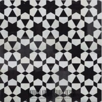 Black and white Zellige tiles ideas online