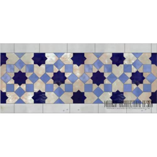 Moroccan Border Tile 135