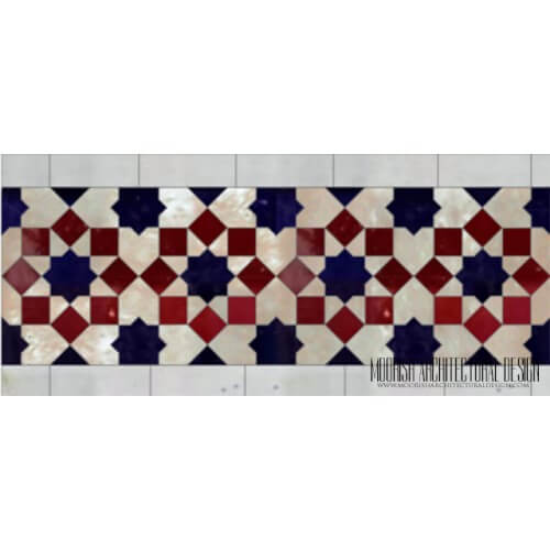 Moroccan Border Tile 136
