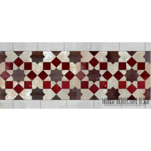 Moroccan Border Tile 137