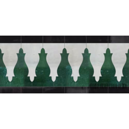 Moroccan Border Tile 147