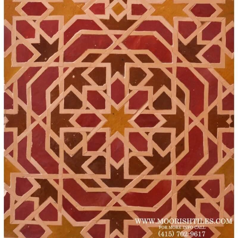 Moroccan Tile Hidden Hills California