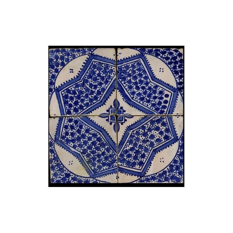 Blue Moroccan Tile Miami Florida