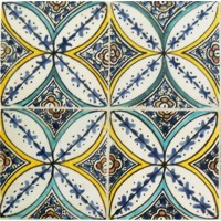 Moroccan Hand Painted Tile New York