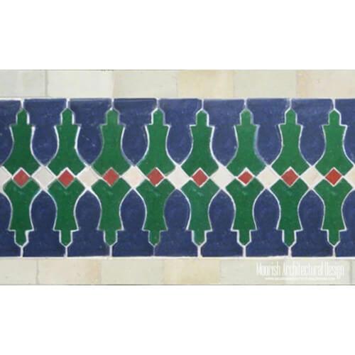 Moroccan Border Tile 10