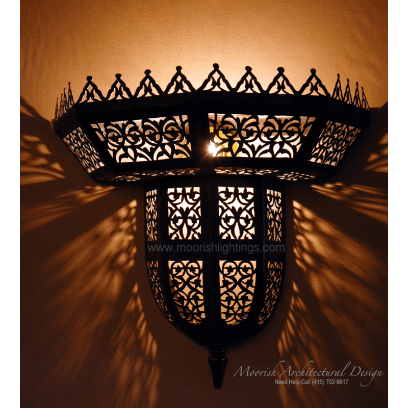 Moroccan Sconce New York