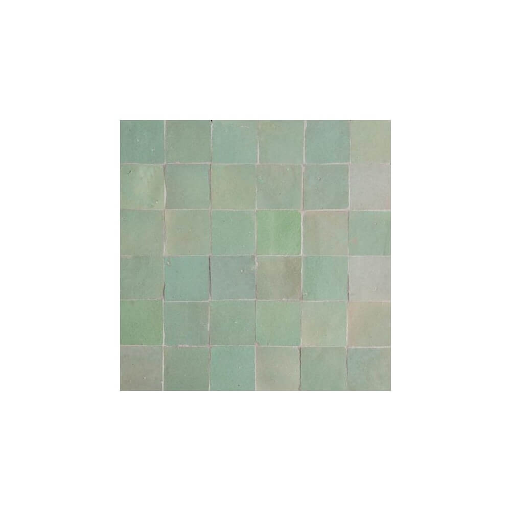 Mint green moroccan tile mint green zellige mint green moroccan tile dailygadgetfo Choice Image