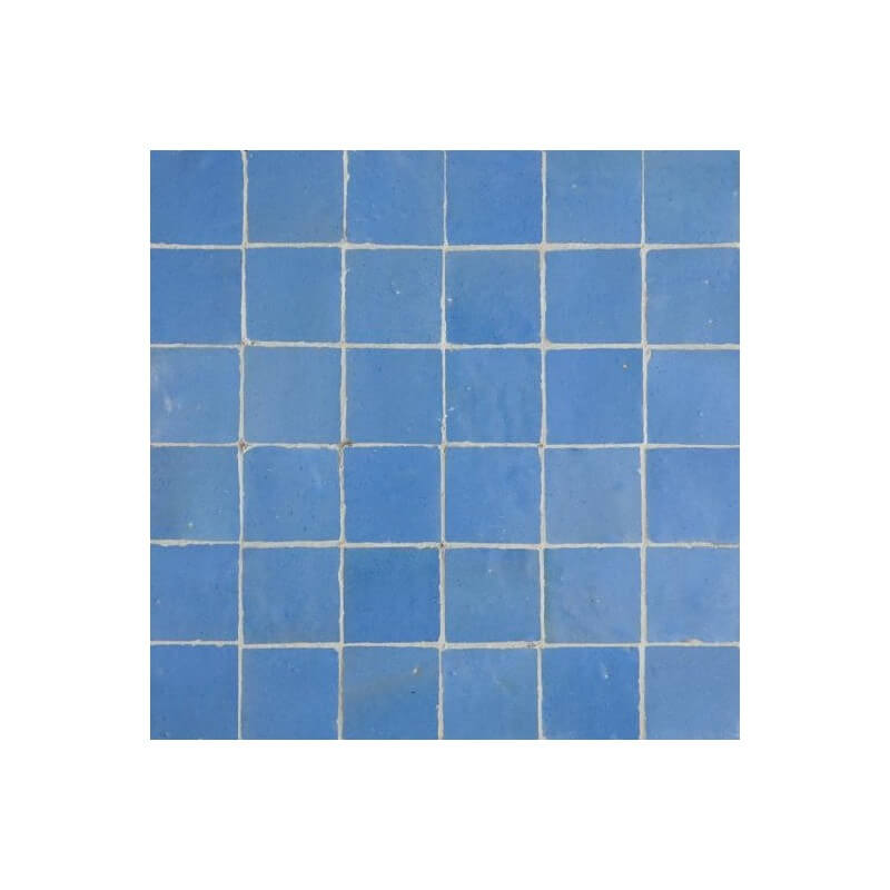 Blue Moorish Tile