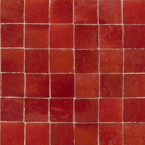 Candy Apple Red Tile