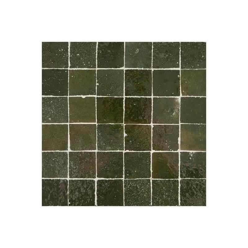 Green Moroccan Tile Los Angeles