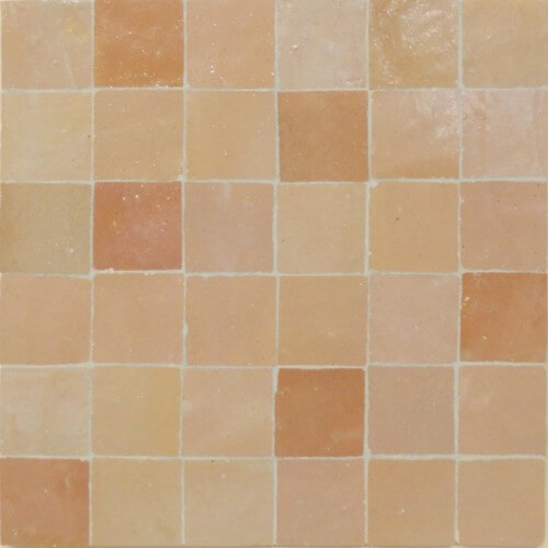 Peach Moroccan Tile