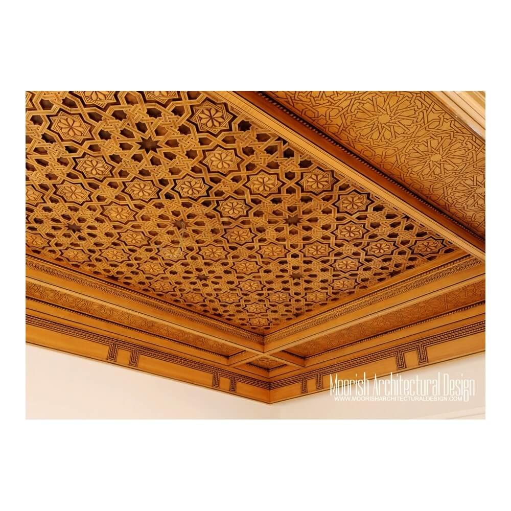 Moroccan Decorative Ceiling New York