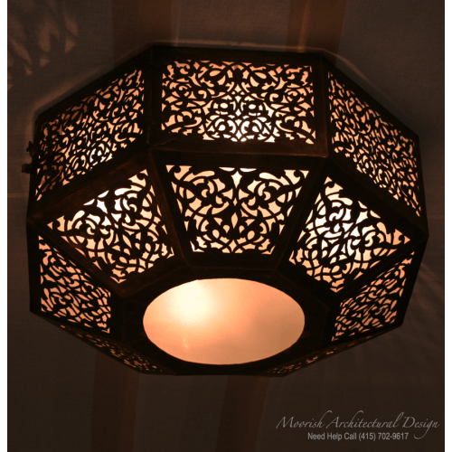 Moroccan Ceiling Light 02