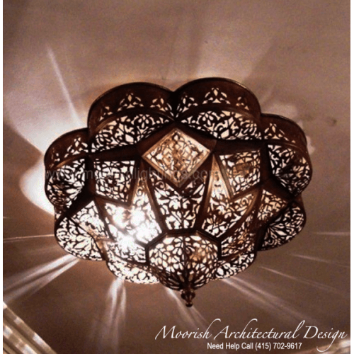Traditional Ceiling Light 01
