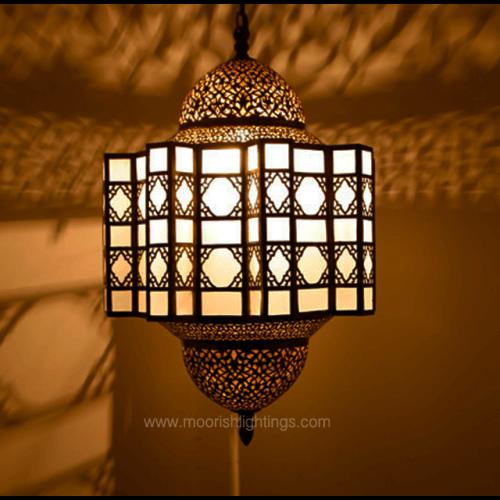Modern Moroccan Lantern 01