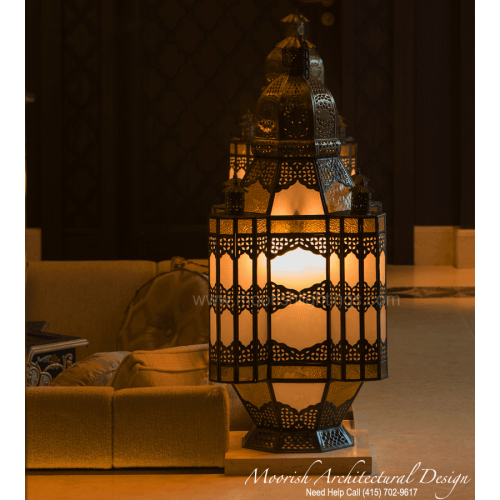 Traditional Moroccan Lamp 06