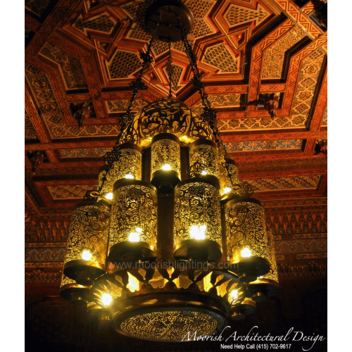 Traditional Moroccan Chandelier 01