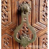 Antique brass door knockers