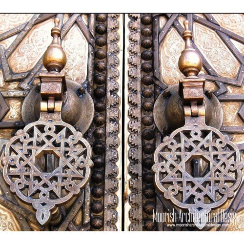Moroccan Door Knocker 07