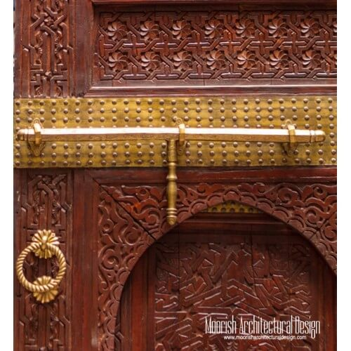 Moroccan Door Lock 02