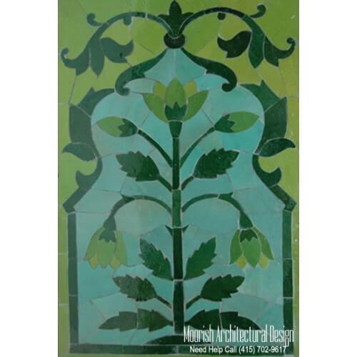 Moroccan Tile Mural 05