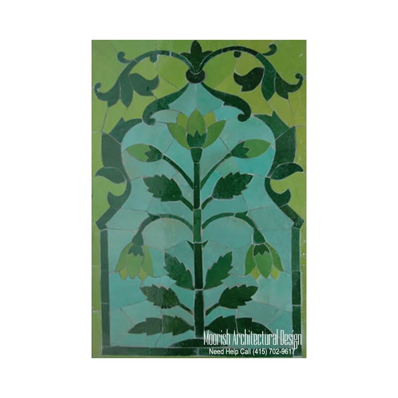Moroccan Decorative ceramic tile