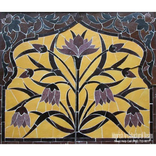 Moroccan Tile Mural 10
