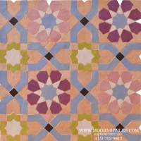 Rustic Moorish Tiles