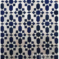 Moroccan shower tile