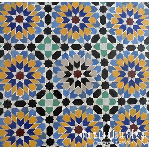 Moroccan Tile 125